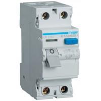 Устройство защитного отключения УЗО 2x63 A, 30 mA, A, 2м Hager CD263J