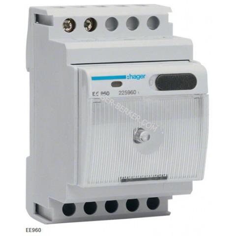 Компактный светильник для щитов, 230В, 3м Hager EE960