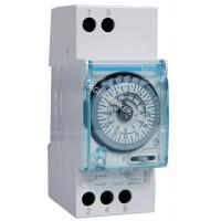 Таймер аналоговый, суточный, 110-230В, 16А, 1 переключающий контакт, без резерва хода, 2м Hager EH210