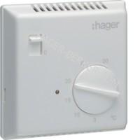 Термостат биметаллический, ручное ВКЛ/ВИМК 230В/ 10А, контакт - НВ Hager EK051