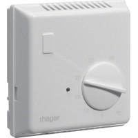 Термостат биметаллический, 230В/ 10А, контакт - НВ Hager EK053