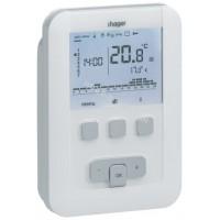 Термостат цифровой многофункциональный, питания 230В, макс.нагрузки 230В/5А Hager EK530