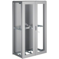 Шкаф Univers, IP54/I, 1900x1100x600мм прозрачные двери, серый Hager FG24KD
