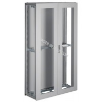 Шкаф Univers, IP54/I, 1900x1100x400мм прозрачные двери, серый Hager FG24LD