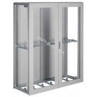 Шкаф Univers, IP54/I, 1900x1600x600мм прозрачные двери, серый Hager FG26KD