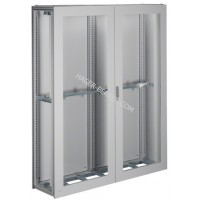 Шкаф Univers, IP54/I, 1900x1600x400мм прозрачные двери, серый Hager FG26LD