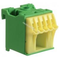 Блок дополнительных PE-клемм 1x16 mm2 + 5x4 mm2 Hager KN06E