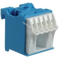 Блок дополнительных N-клемм 1x16 mm2 + 5x4 mm2 Hager KN06N
