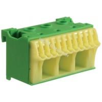 Блок PE-клемм, количество единиц деления - 2 ширина — 60мм Hager KN14E