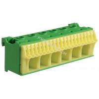 Блок PE-клемм, количество единиц деления - 3,5 ширина — 105мм Hager KN26E