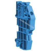 N-держатель для 10x3мм сборных шин Hager KW1HC