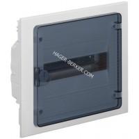 Щит внутренней установки с прозрачной дверцей, 12 мод. (1х12), GOLF Hager VF112TD