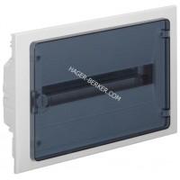 Щит внутренней установки с прозрачной дверцей, 18 мод. (1х18), GOLF Hager VF118TD