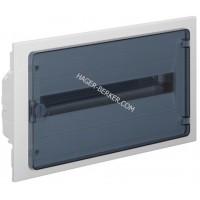Щит внутренней установки с прозрачной дверцей, 22 мод. (1х22), GOLF Hager VF122TD