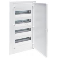 Щит внутренней установки с белой дверцей, 48 мод. (4х12), GOLF Hager VF412PD