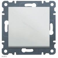 Выключатель 2-полюсный Lumina-2, белый, 10АХ/230В Hager WL0060