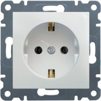 Розетка з з/к Lumina-2, белая, 16А/230В Hager WL1050